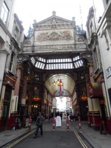 Leadenhall Market: der tropfende Kessel